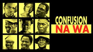 Netflix box art for Confusion Na Wa