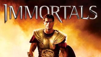 Netflix box art for Immortals