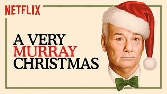 Netflix box art for A Very Murray Christmas