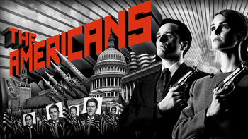 Netflix box art for The Americans - Season 1