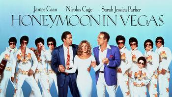 Netflix box art for Honeymoon in Vegas