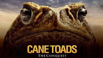 Netflix box art for Cane Toads: The Conquest