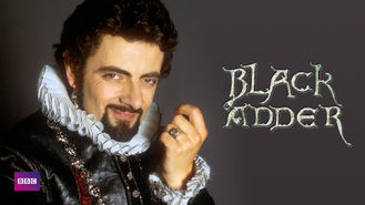 Netflix box art for Blackadder - Series 3
