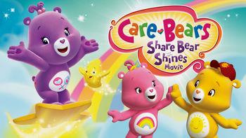 Netflix box art for Care Bears: Share Bear Shines
