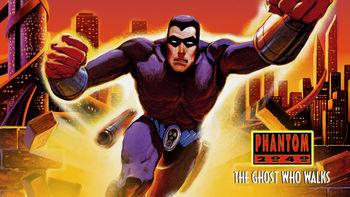 Netflix box art for Phantom 2040: The Ghost Who Walks