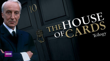 Netflix box art for House of Cards Trilogy (BBC) - Season House of Cards