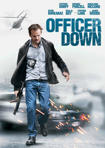 Officer Down Netflix BR (Brazil)