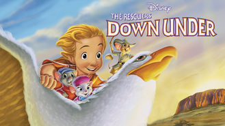 Netflix box art for The Rescuers Down Under