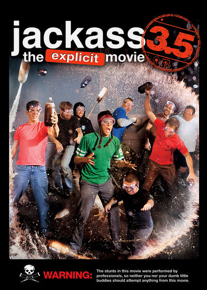 Jackass 3.5: The Explicit Movie Netflix PR (Puerto Rico)
