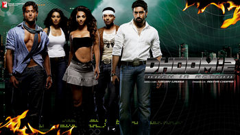 Netflix box art for Dhoom 2