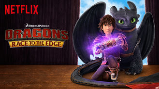 Netflix box art for Dragons: Race to the Edge - Season 1