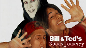Netflix box art for Bill & Ted's Bogus Journey