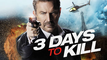 Netflix box art for 3 Days to Kill