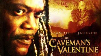 Netflix box art for The Caveman's Valentine