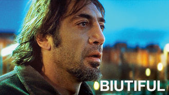 Netflix box art for Biutiful