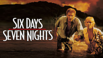 Netflix box art for Six Days, Seven Nights
