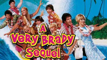 Netflix box art for A Very Brady Sequel