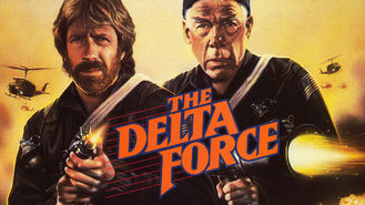 Netflix box art for The Delta Force