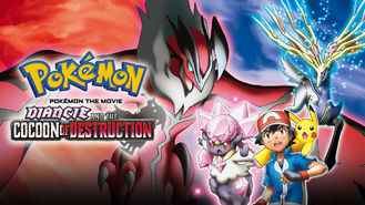 Netflix box art for Diancie and the Cocoon of Destruction