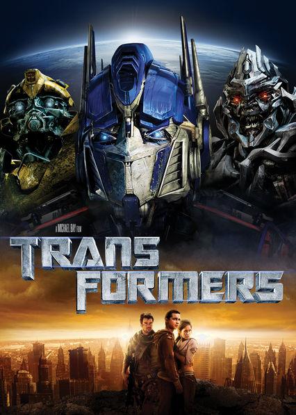 Transformers Netflix BR (Brazil)