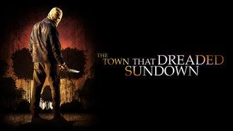 Netflix box art for The Town That Dreaded Sundown
