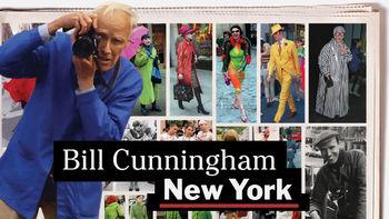 Netflix box art for Bill Cunningham New York