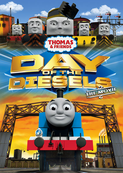 Thomas and Friends: Day of the Diesels Netflix BR (Brazil)
