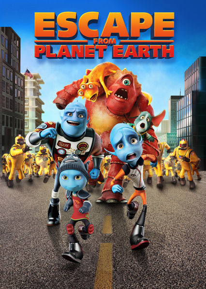 Escape from Planet Earth Netflix AR (Argentina)