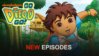 Netflix box art for Go Diego Go! - Season 4