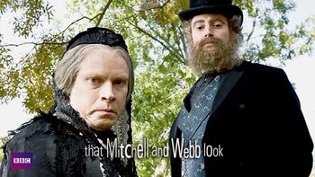 Netflix box art for That Mitchell and Webb Look - Series 1