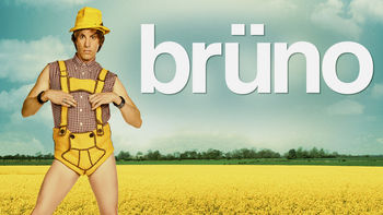 Netflix box art for Brüno