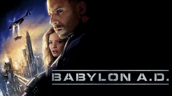 Netflix box art for Babylon A.D.