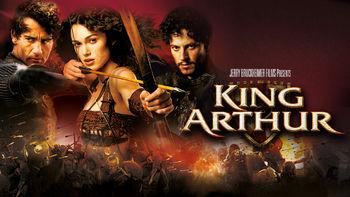 Netflix box art for King Arthur