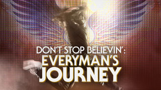 Netflix box art for Don't Stop Believin': Everyman's Journey