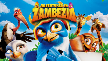 Netflix box art for Adventures in Zambezia