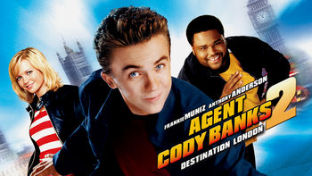 Netflix box art for Agent Cody Banks 2: Destination London