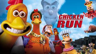 Netflix box art for Chicken Run