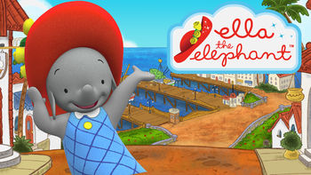 Netflix Box Art for Ella the Elephant - Season 1