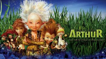 Netflix box art for Arthur and the Revenge of Maltazard