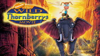 Netflix box art for The Wild Thornberrys Movie