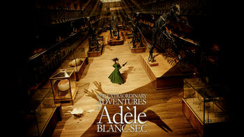 Netflix box art for Adèle Blanc-Sec