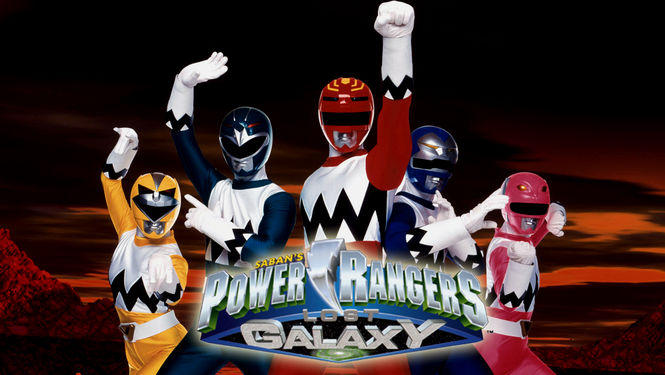Netflix Box Art for Power Rangers Lost Galaxy - Episodes 26-45