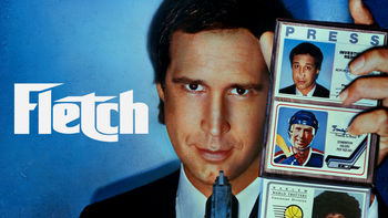 Netflix box art for Fletch