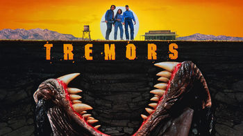 Netflix box art for Tremors