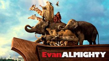 Netflix box art for Evan Almighty
