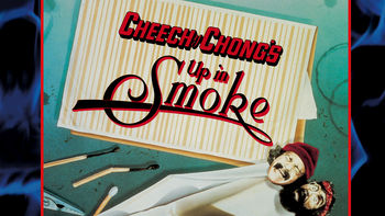 Netflix box art for Cheech & Chong's Up in Smoke