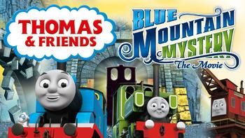 Netflix box art for Thomas & Friends: Blue Mountain Mystery