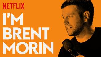 Netflix box art for I'm Brent Morin