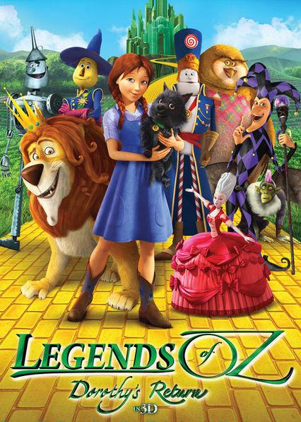 Legends of Oz: Dorothy's Return Netflix AR (Argentina)