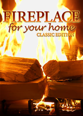Fireplace 4K: Classic Crackling Fireplace